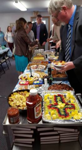 Easter breakfast 2016